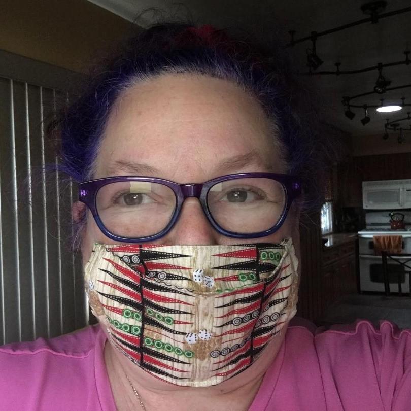 Masked Adreienne